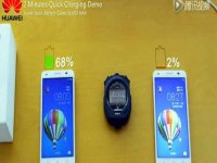 Charge a smartphone battery almost half in five minutes with Huawei's battery tech