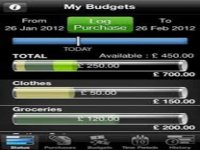 Spend book for iPhone app; expense trackers for iOS